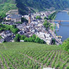View of Cochem, Mosel Valley, Germany