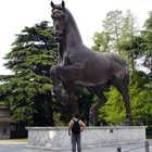 Leonardo's Horse Sculpture, Milan, Italy