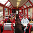 Train Car Interior, Glacier Express, Switzerland