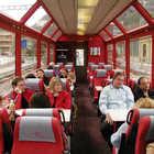 Train Car Interior, Glacier Express, Switzerland