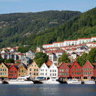 Harbor Setting, Bergen, Norway