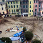 Piazza Marconi During 10/25/2011 Flodding, Vernazza, Cinque Terre, Italy