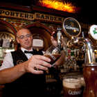Bartender Pouring Guinness, Belfast, Northern Ireland