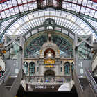 Central Train Station Interior, Antwerp, Belgium