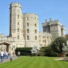 Windsor Castle Exterior, Windsor, England