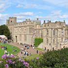 Warwick Castle exterior, Warwick, England