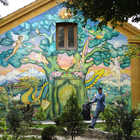 Decorated House, Christiania, Copenhagen, Denmark