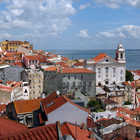 Alfama Roofs, Lisbon, Portugal