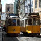 Streetcars, Lisbon, Portugal