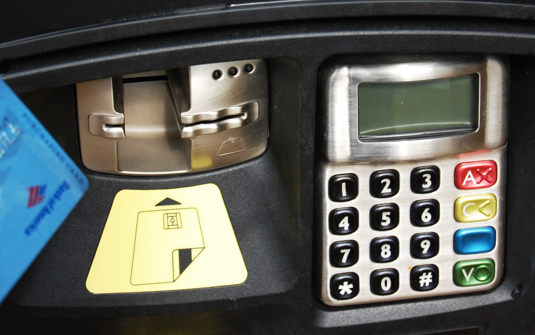 Chip and Pin Card Machine, Europe