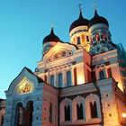 Nevsky Cathedral Exterior, Tallinn, Estonia