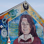 Bobby Sands Mural, Belfast, Northern Ireland