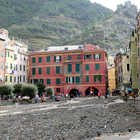 Debris-Filled Harbor, 10/25/2011 Disaster, Vernazza, Cinque Terre, Italy