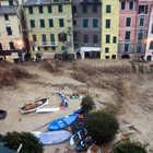 Piazza Marconi During 10/25/2011 Flodding, Vernazza, Cinque Terre, Italy