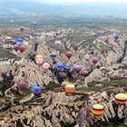 Balloons over Cappadicia, Turkey