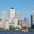 Docklands Skyline, London, England