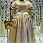 Queen Victoria's Wedding Dress, Kensington Palace, London, England