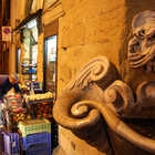 Street at Night, Oltrarno, Florence, Tuscany, Italy
