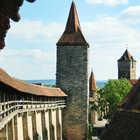City Wall, Rothenburg ob der tauber, Germany
