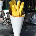 Big Fries in Bruges, Belgium