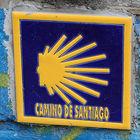 Camino de Santiago tile