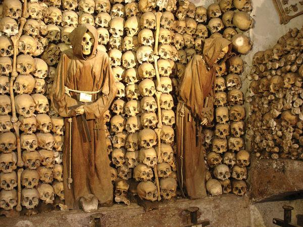 Capuchin Crypt Bones, Rome, Italy