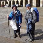 Pilgrims, Santiago de Compostela, Spain