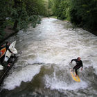 River Surfers, Munich, Germany