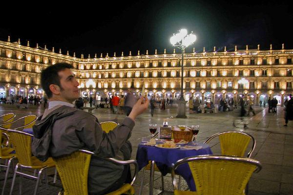 Outdoor Cafe, Salamanca, Spain