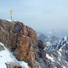 Top of Zugspitze
