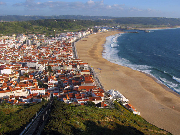 View of Nazare, Portugal