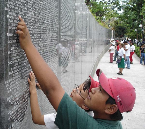 Memorial Wall, El Salvador