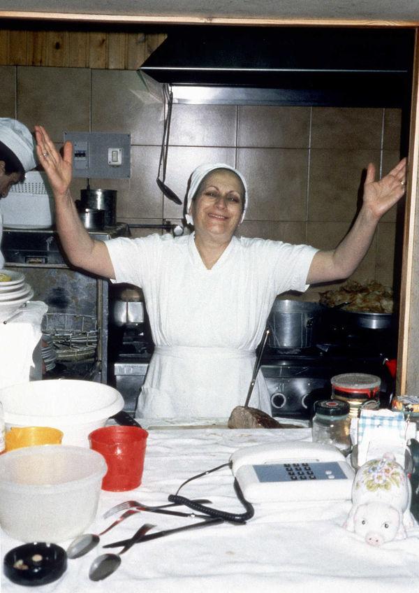 Woman Restaurant Chef, Italy