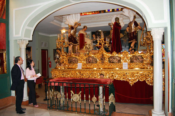 Procession Float, Sevilla, Andalucia, Spain