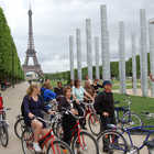 Bike Tour, Champ de Mars, Paris, France