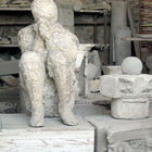 Cast of Disaster Victim, Pompeii, Italy