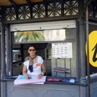 Tourist Info Booth for Cruisers, Livorno, Italy