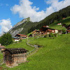 View of Gimmelwald, Berner Oberland, Switzerland