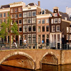 Canal and Buildings, Amsterdam, Netherlands