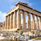 Parthenon Exterior, Athens, Greece