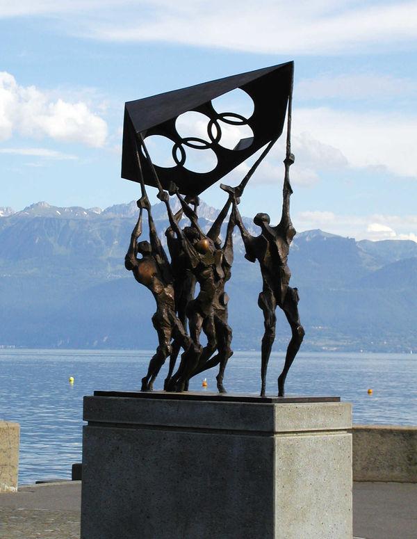 Olympic Sculpture, Lausanne, Switzerland