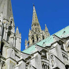 Towers of Chartres Cathedral, France