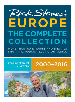 Rick Steves' Europe: The Complete Collection 2000-2016 DVD Box Set